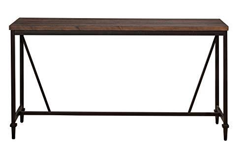 - Hillsdale 4236-883 Trevino Sofa/Console Table Brown