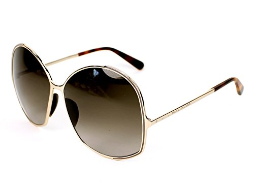 Marc Jacobs 621/S Sunglasses Light Gold Gray Gold / Brown Gradient by Marc Jacobs