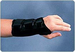 Sammons Preston Canvas Wrist Splint, Right, Small, Orthop...