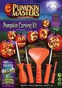 Pumpkin Masters Halloween Pumpkin Carving Set with 10 Patterns -