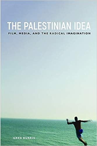 The Palestinian Idea: Film, Media, and the Radical Imagination