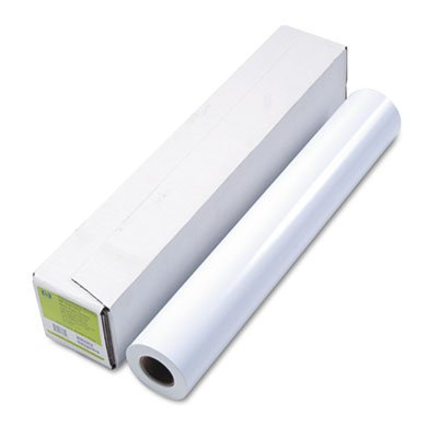 ge Format Paper, 24'' x 100 ft, White, Sold as 1 Roll (Inkjet 24' Wide Roll)