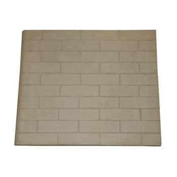 brick fireplace liner replacement amazoncom set of two fireplace replacement panels 24 h x 28 w