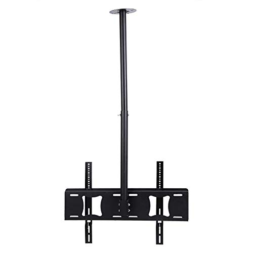 Adjustable Height Telescoping Tilt and Swivel TV Ceiling Mount Bracket for 32 37 40 42 43 50 55 60 62 inch LCD LED Plasma Monitor Flat Panel Screen Display