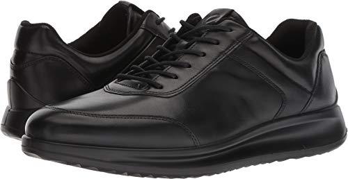 ECCO Men's Aquet Tie Oxford, Black Sneaker, 48 M EU (14-14.5 - Tie Black Ecco