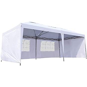 Amazon Com Ozark Trail 20x10 Straight Leg Instant Canopy