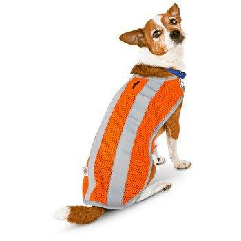 Orange Reflective Mesh Vest - 9