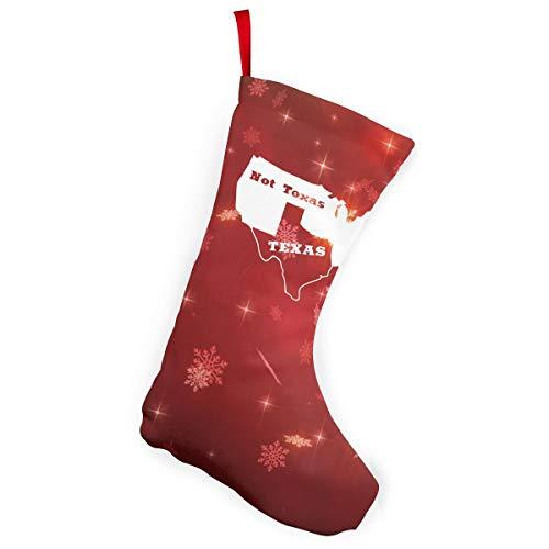 Texas Not Texas Secede Austin Dallas Oil Longhorn Christmas Stockings Christmas Xmas Tree Fireplace -