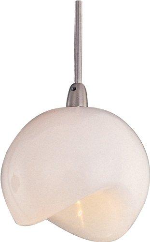 ET2 Lighting EP96006-10SN Minx Opal White RapidJack Mini Pendant ()