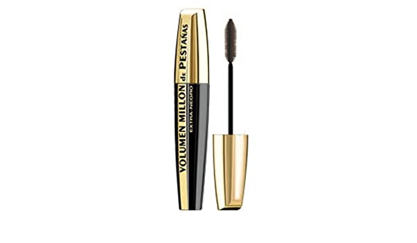 Amazon.com : LOREAL MASCARA BLACK + EXTRA MILLON eyelashes SHADOW : Beauty
