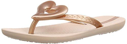Ipanema Summer Love, Girls' Flip Flop Gold (Rose Gold)