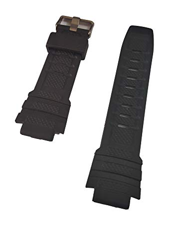 g24 20mm Black Rubber Watch Band Strap fits Armitron Watches