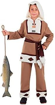 DISBACANAL Disfraz de Esquimal para niño - -, 6 años: Amazon.es ...