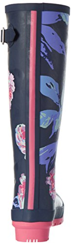 Tom Joule W_WELLYPRINT, Botas Altas de Agua Mujer, , Azul (French Navy Beau Bloom)