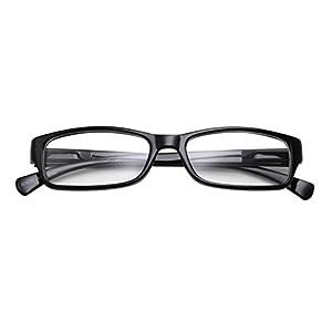 Kids Smart Looks Eye Glasses Rectangle Nerd Children's Clear Lens (Age 6-12)