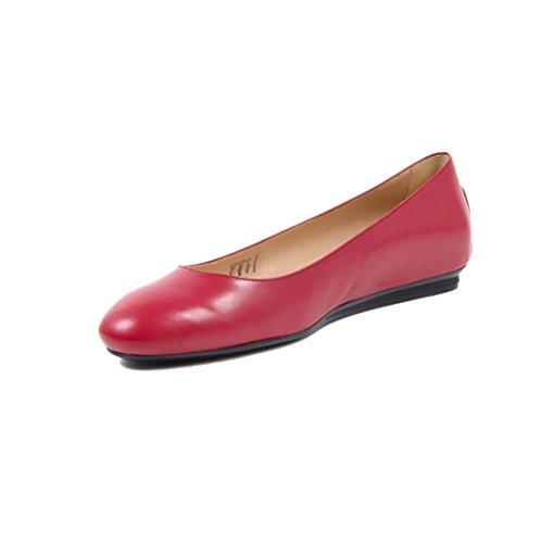 Tods Bailarinas Para Mujer Rojo Rojo It - Marke Größe