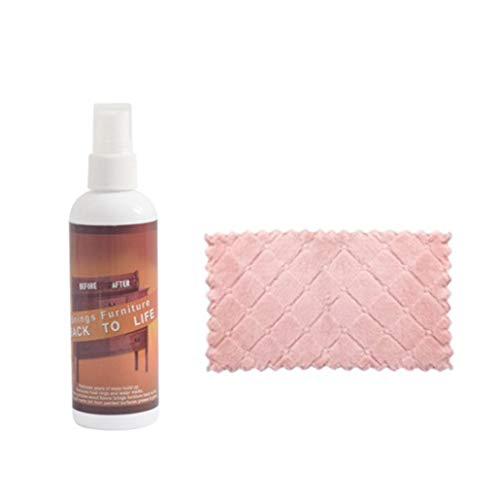 TeaBoy Scratch Repair Touch-up & Remover,Wood Floor Polish and Restorer,Professional Hardwood Cleaner Concentrate Wood Spray Remover Repair for Wooden Table Bed Floor Sofa