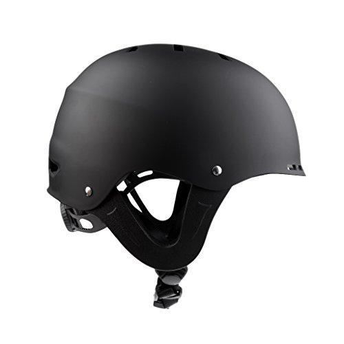 MonkeyJack Water Helmet Safety Hat Protective Gear for Water Sports Kayak Canoe Skate Ski Surf M by MonkeyJack