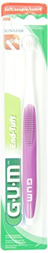 End Gum - GUM End-Tuft Tapered Trim Toothbrush by Butler