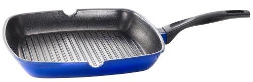 Kopf 122593 Grillpfanne Damiano, Aluguss, 28 cm, blau