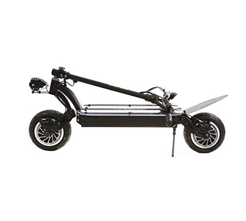 NANROBOT LS7 Super Powerful Electric Scooter-11 inch Tires,3600W Motor Power Allow for a Top Speed of 52 MPH and 56 Miles Range