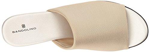 Bandolino Women's Evelia Slide Sandal Gold Fabric professional free shipping discount GZtXE1t51Z