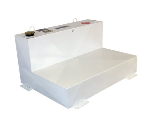 Better Built 29224163 Heavy Duty Series Liquid Transfer Tank Volume 88 Gallons L 54.25 in. x W 31 in. x H 24 in. White Steel L-Shaped Heavy Duty Series Liquid Transfer Tank