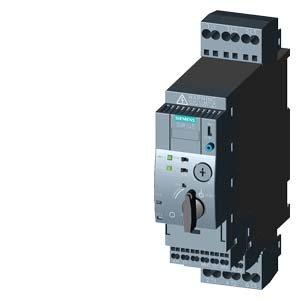 Siemens 3RA61202CB32 Compact Combination Starter, Standard Induction Motor, 4 Pole at 480VAC, Spring Type Terminals, 24VAC/VDC Voltage