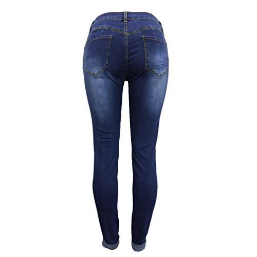 Slim Tailleur Calze MODA Jeans Con Collant Blu Pantaloni Da Pantaloni Maglieria Monopezzi Donna Fit Skinny Vestiti Sportivo E Buco Gonne Tutine Leggings Scuro OHQ Aderenti Giacche OwtqCT