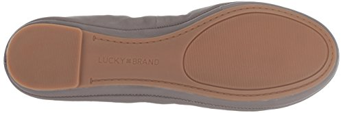 Lucky Brand Women's Emmie Ballet Flat, Titanium, 9 Medium US by Lucky Brand (Image #3)