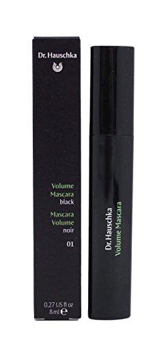 Dr. Hauschka Volume Mascara, No.01 Black, 0.27 Ounce