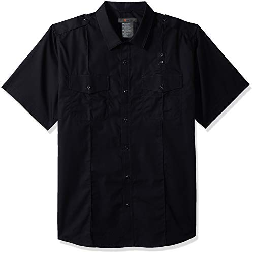 (5.11 Tactical Men's Taclite Class A PDU Short Sleeve Polo Shirt, Teflon Treatment, Style 71167)