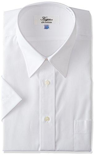 優しい遅いリマーク[フレックスジャパン]KOGEN 日本製 防汚加工 形態安定 半袖 メンズ