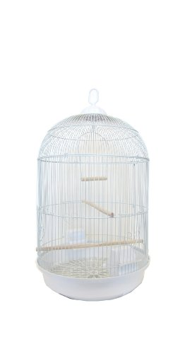 UPC 833775000353, YML Round Cage, Small, White
