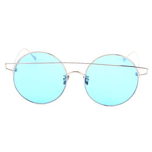 Polarizan Sol Color color Película Marco Las Moda Gafas A Del Redondas C La De Tlmy Pequeño 0tzwqw