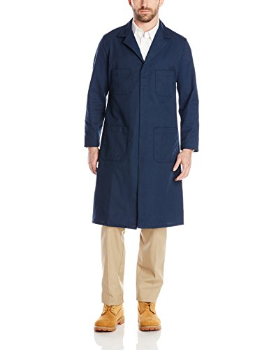 Red Kap Men's Shop Coat, Navy, 38