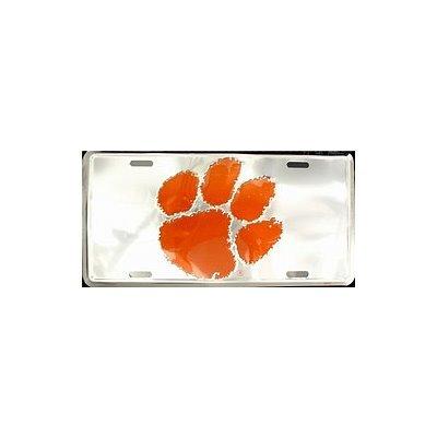(6x12) Clemson University NCAA Chrome License Plate