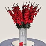 18-to-27-Red-Delphinium-Stems-Filler-Silk-Wedding-Flowers-Bouquet-Centerpieces