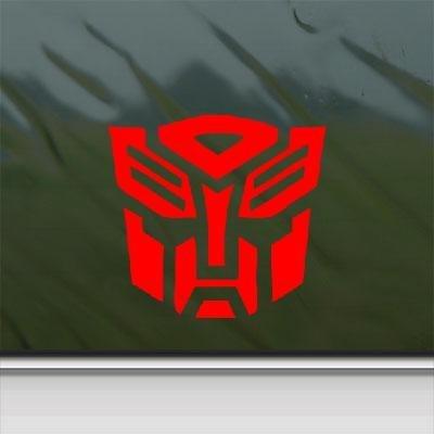 Transformers Autobot Decal Diecut Sticker Self Adhesive Vinyl