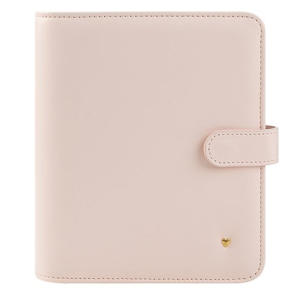 Compact Planner Love Simulated Leather Snap Binder - (Compact Simulated Leather)