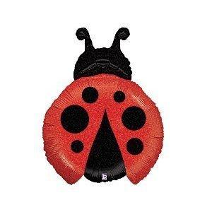 Foil Ladybugs (Betallic 85667 Little Ladybug Shop Foil Balloon Flt, 27