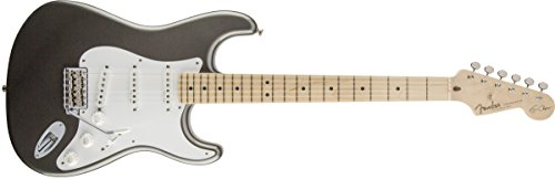 Fender Eric Clapton Stratocaster Electric Guitar, Pewter, Maple Fretboard