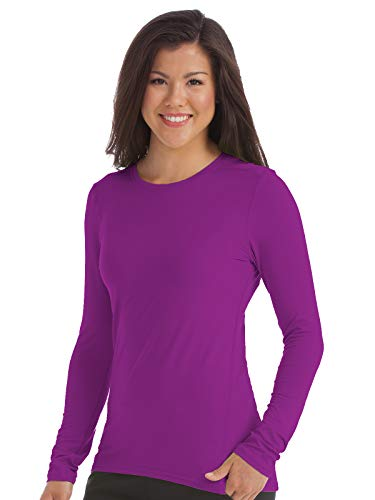 (Med Couture Activate Women's Performance Knit Scrub Tee Rhubarb S)