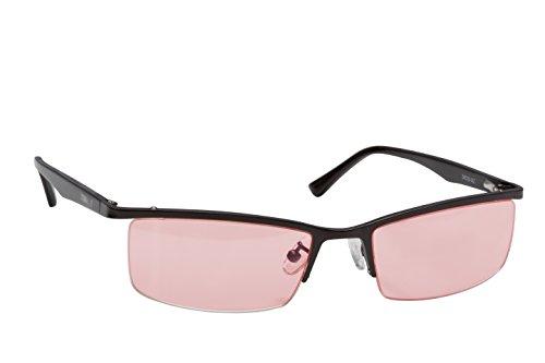 Terramed Eagle Unisex Migraine Glasses Women or Men - Migraine Glasses for Migraine Relief and Light Sensitivity Relief | Fl-41 Migraine Glasses for Computers Indoor Reading Photophobia Eye Strain