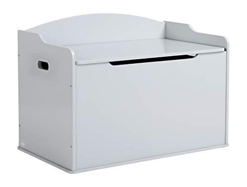 Wildkin Nashville Toy Box, Grey Fog (Nashville Furniture)