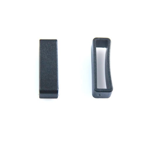 25pcs/pack Plastic Belt Loop Keeper Square Loop Buckles Belt Harness Backpack Straps (1