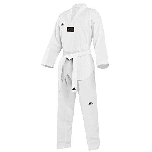 Adits01 Adidas Dobok Adi White start Taekwondo qqUTBX