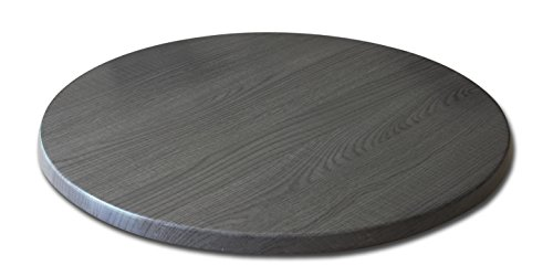 Holland Bar Stool Co. OD36RChar Indoor/Outdoor Table Top, Charcoal ()