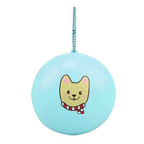 ❤Lemoning❤ Bread Pendant Scented Charm Slow Rising Collection Squeeze Stress Reliever Toys (Mint Green)
