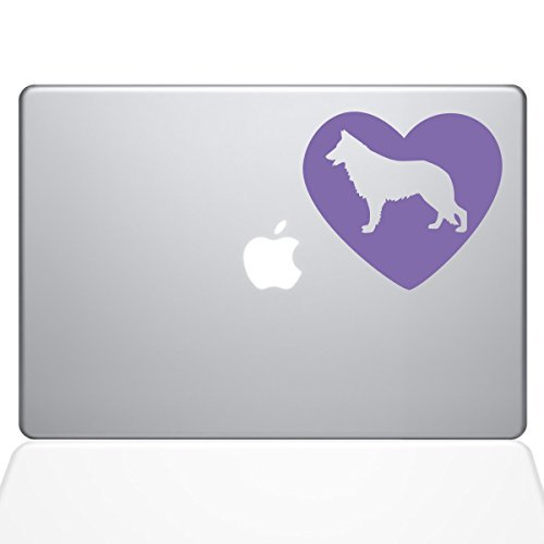 海外並行輸入正規品 The Decal Decal Guru Heart German Shepherd Decal Models) Vinyl Sticker Heart 15 MacBook Pro (2016 & Newer Models) Lavender (1382-MAC-15X-LAV) [並行輸入品] B078FBPGGN, タブセチョウ:47cc2729 --- a0267596.xsph.ru